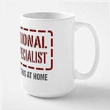 Professional Payroll Specialist Large Mug