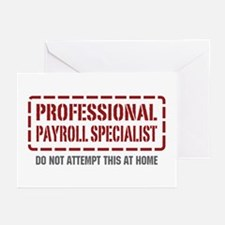 Professional Payroll Specialist Greeting Cards (Pk