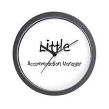 Little Accommodation Manager Wall Clock