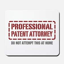Professional Patent Attorney Mousepad