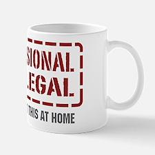 Professional Paralegal Mug