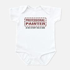 Professional Painter Infant Bodysuit
