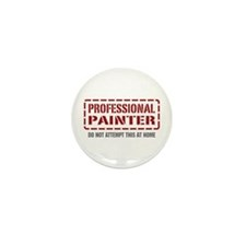 Professional Painter Mini Button (10 pack)