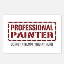 Professional Painter Postcards (Package of 8)