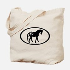 Cute Appy Oval Tote Bag