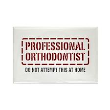 Professional Orthodontist Rectangle Magnet