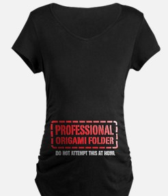 Professional Origami Folder T-Shirt