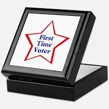 First Time Voter Star Keepsake Box