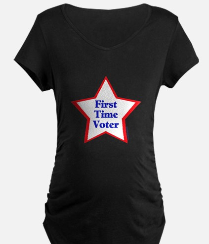 First Time Voter Star T-Shirt