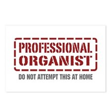 Professional Organist Postcards (Package of 8)