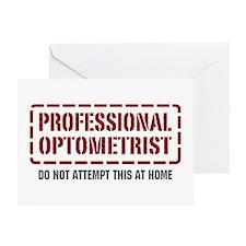 Professional Optometrist Greeting Card