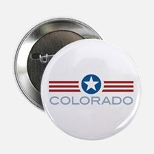 "Star Stripes Colorado 2.25"" Button (100 pack)"