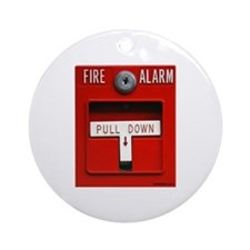 FIRE ALARM Ornament (Round)