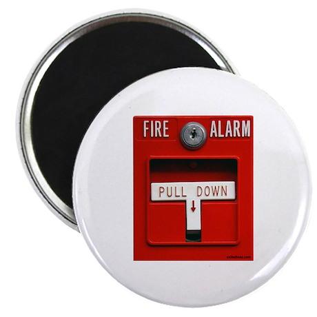 "FIRE ALARM 2.25"" Magnet (100 pack)"