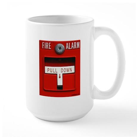 FIRE ALARM Large Mug