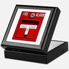 FIRE ALARM Keepsake Box