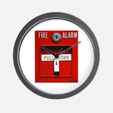 FIRE ALARM Wall Clock