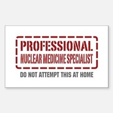 Professional Nuclear Medicine Specialist Decal