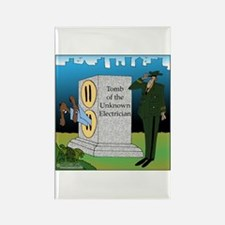 Electrician's Tomb Rectangle Magnet