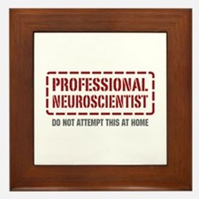 Professional Neuroscientist Framed Tile