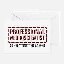 Professional Neuroscientist Greeting Card