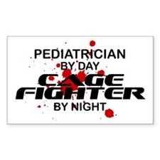 Pediatrcian Cage Fighter by Night Decal