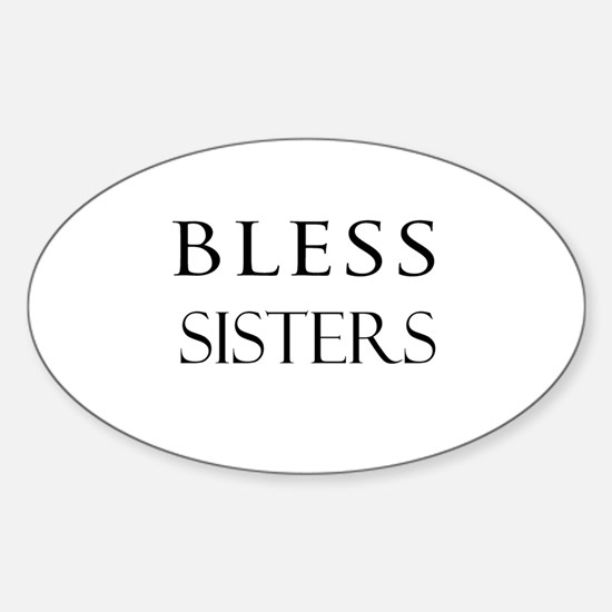 SISTERS Oval Decal