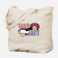 Annie Loves Andy Tote Bag