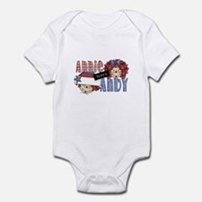 Annie Loves Andy Infant Bodysuit
