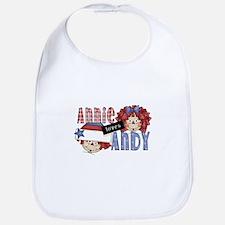 Annie Loves Andy Bib