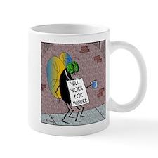 Will Work for Manure Mug
