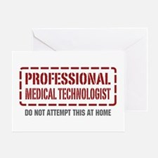Professional Medical Technologist Greeting Card