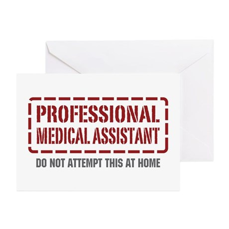 Professional Medical Assistant Greeting Cards (Pk