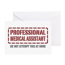 Professional Medical Assistant Greeting Card