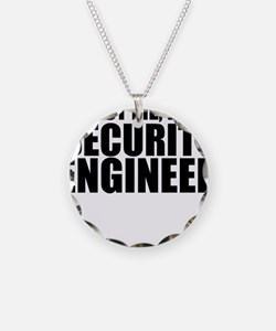 Trust Me, I'm A Security Engineer Necklace