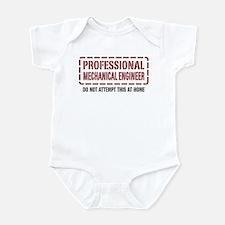 Professional Mechanical Engineer Infant Bodysuit