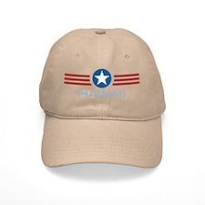 Star Stripes Hawaii Baseball Cap