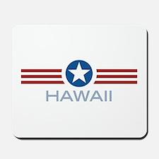 Star Stripes Hawaii Mousepad