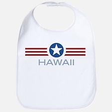 Star Stripes Hawaii Bib