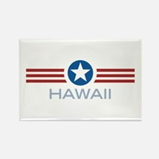 Star Stripes Hawaii Rectangle Magnet