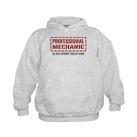Professional Mechanic Kids Hoodie