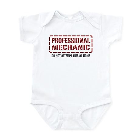 Professional Mechanic Infant Bodysuit