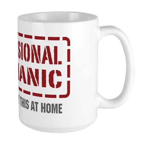 Professional Mechanic Large Mug