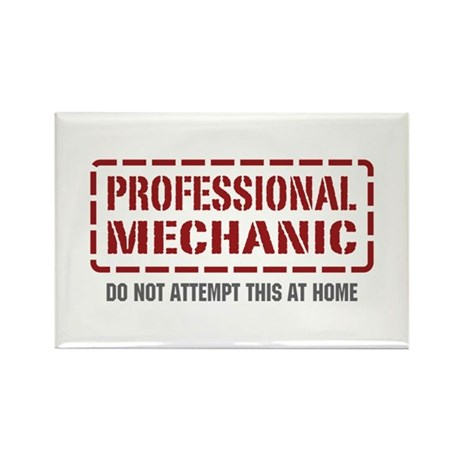 Professional Mechanic Rectangle Magnet (10 pack)