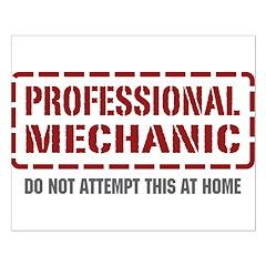 Professional Mechanic Posters