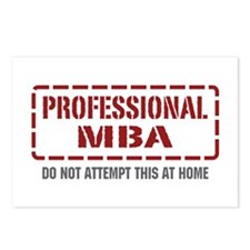 Professional MBA Postcards (Package of 8)