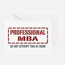 Professional MBA Greeting Card