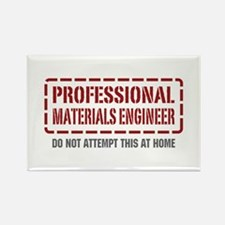 Professional Materials Engineer Rectangle Magnet