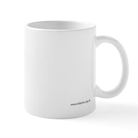 interim logo mug