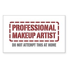 Professional Makeup Artist Rectangle Decal
